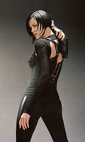 Charlize Theron as Æon Flux in Æon Flux