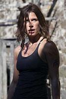 Rhona Mitra as Eden Sinclair in Doomsday