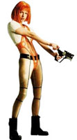 Milla Jovovich as Leeloo in The Fifth Element